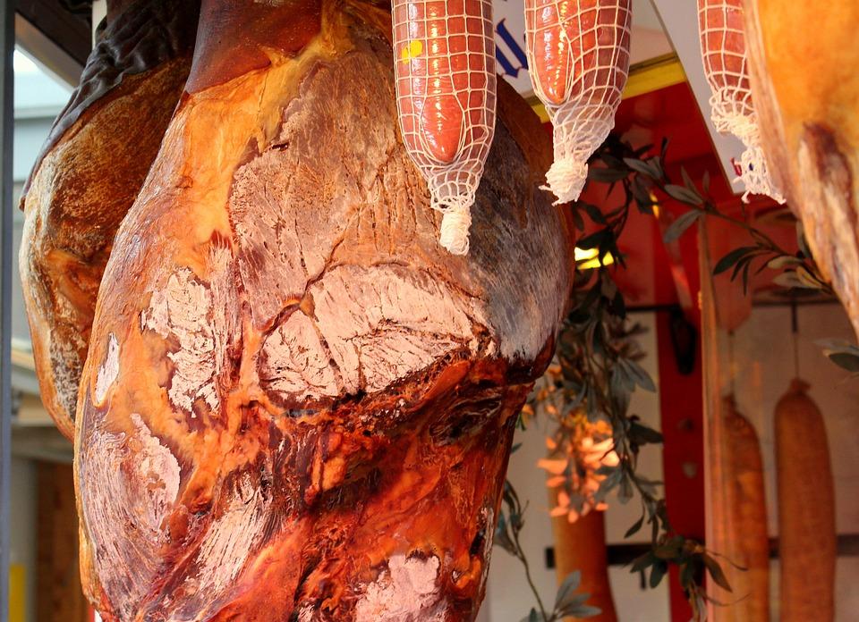 Market, Ham, Sausage