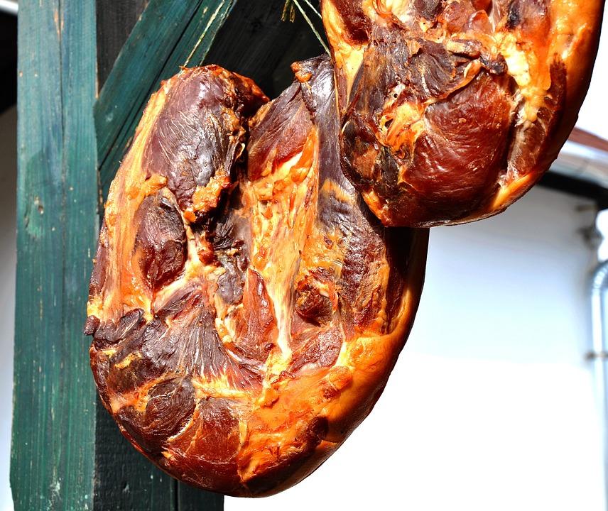 Smoked Meat, Ham, Food