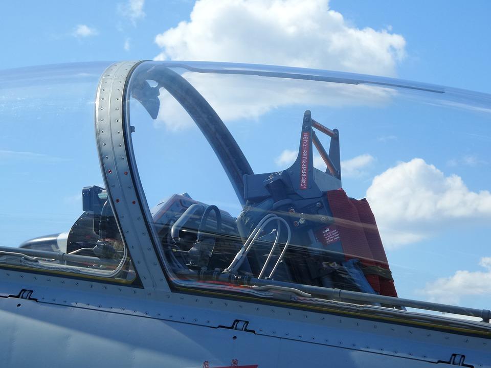Japan, Hamamatsu, Air, Show, Jet, Fighter, Cockpit