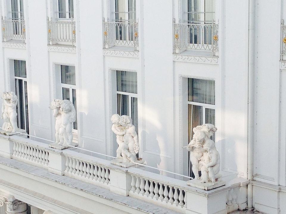 Hamburg, Hotel, Facade, Atlantic, Tourism, Building