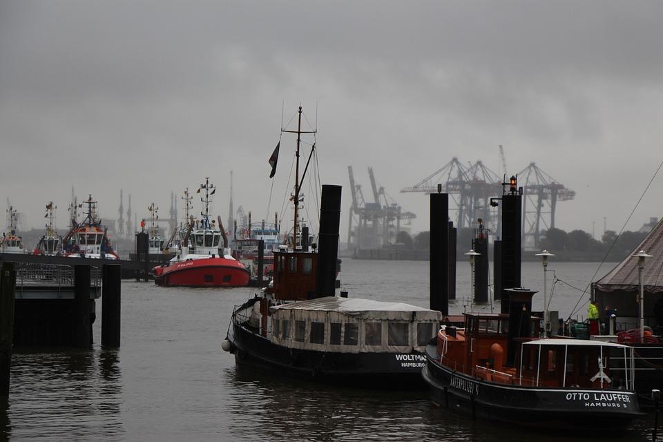 Port, Hamburg, Hanseatic, Hamburg Port, Elbe