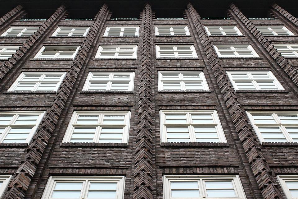 Chile-house, Kontorhaus Quarter, Hamburg, Window