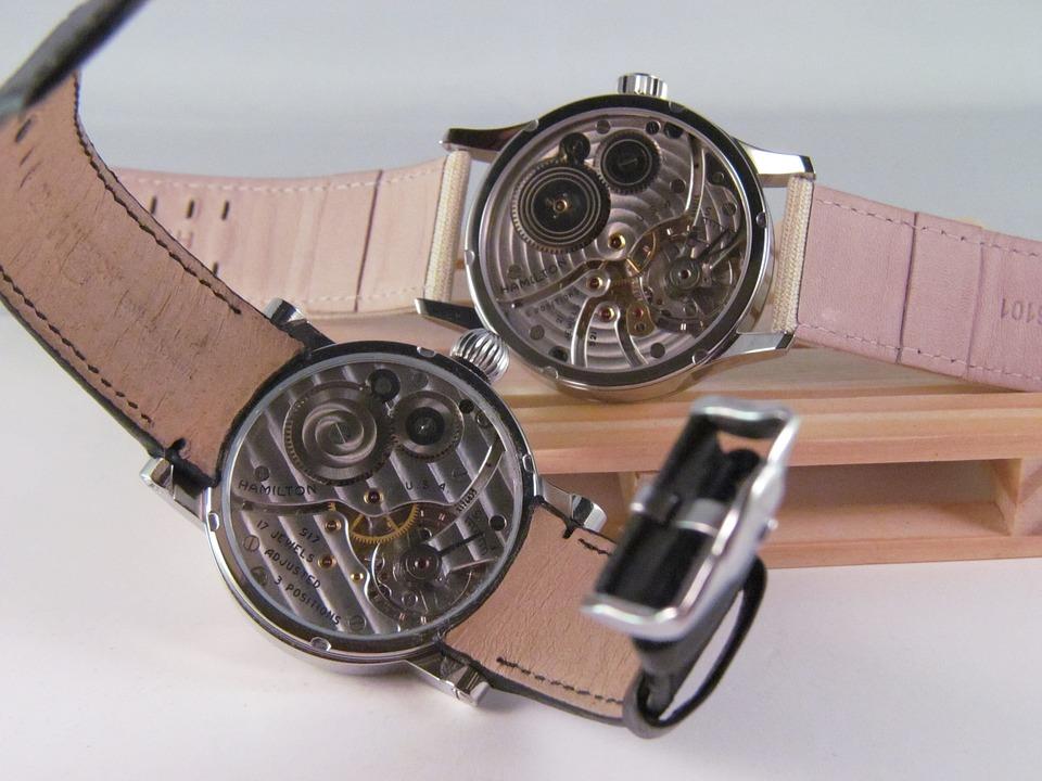 Hamilton, Pocket Watch, Wristwatch