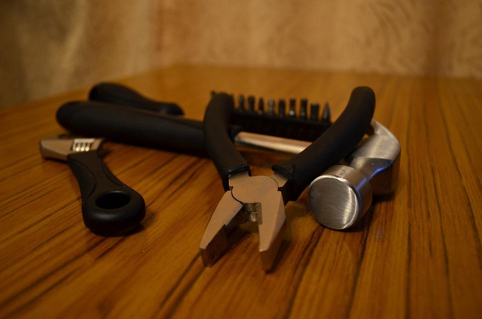 Tools, Repair, Pliers, Hammer, Maintenance
