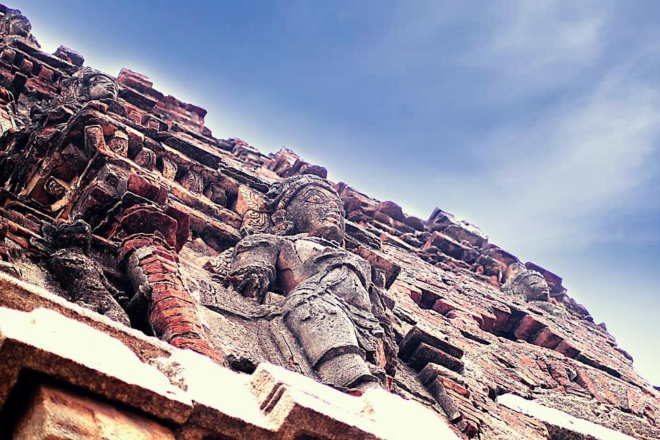 Hampi, India, Temple, Unesco, Site