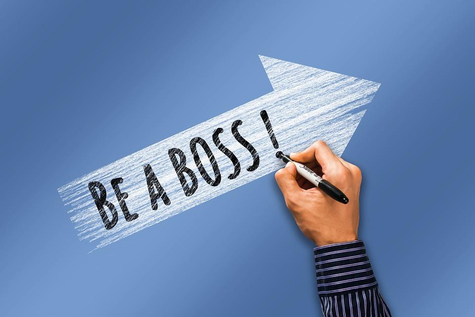 Career, Boss, Hand, Write, Arrow, Rise, Manager