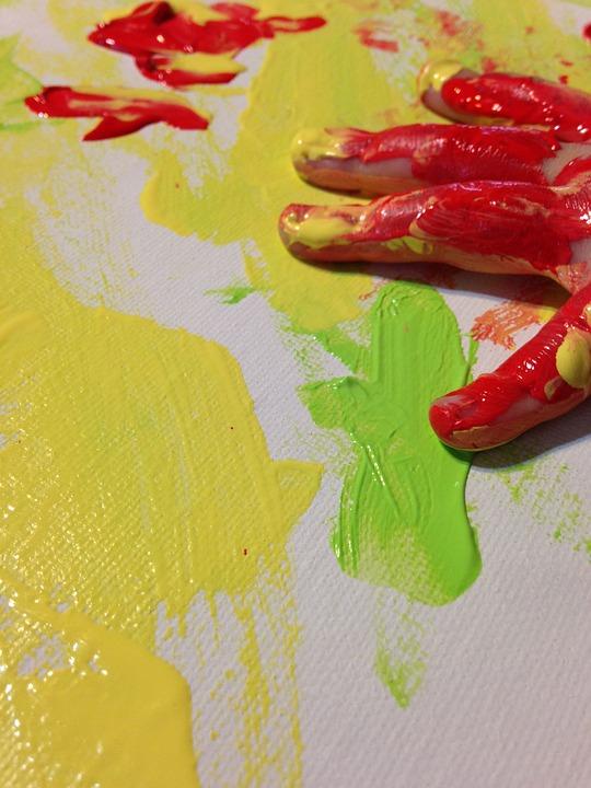Paint, Colors, Hand, Child's Hand, Art, Finger, Kid