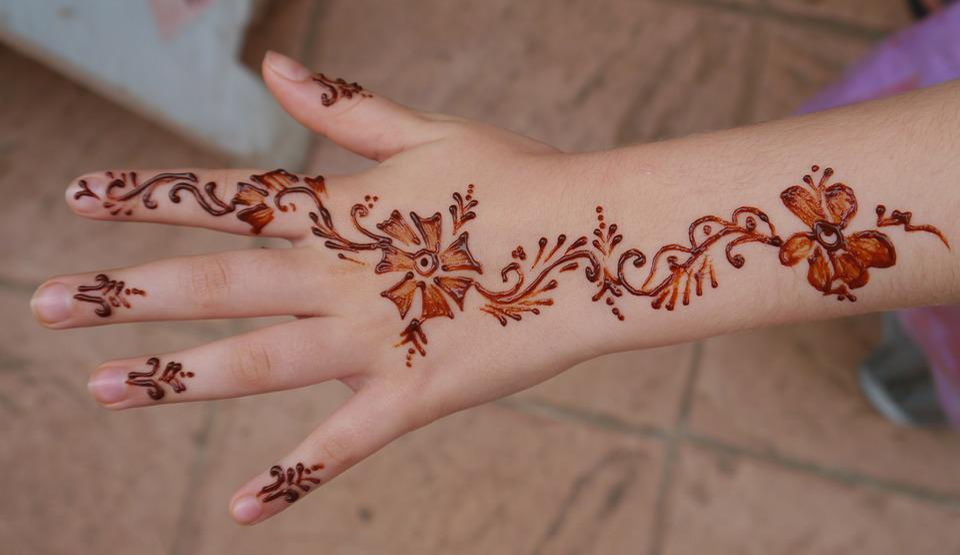 Free Photo Hand Henna Mehendi Girl Indian Art Painting Max Pixel
