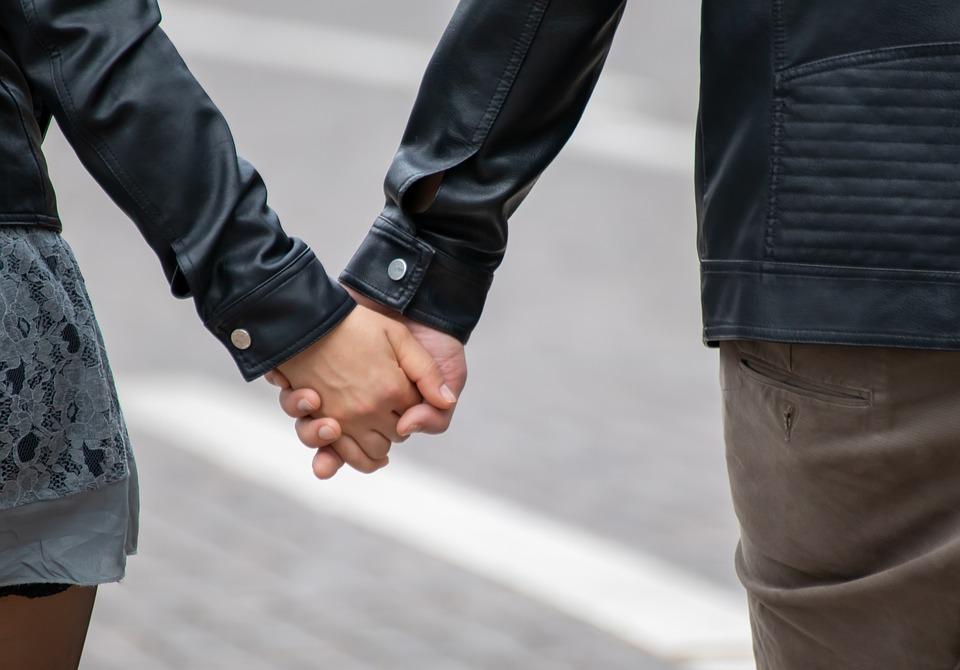 Love, Woman, Man, Hand, Hand In Hand, Romantic, Go