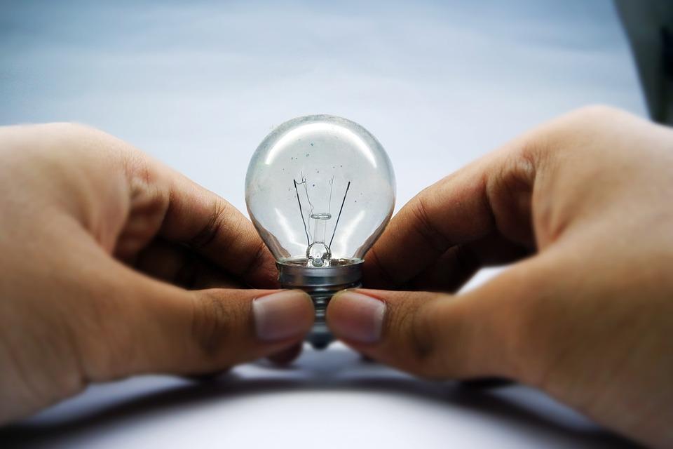 Bulb, Hand, Energy, Idea, Lamp, Inspiration, Creativity