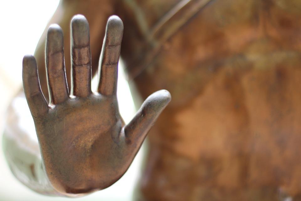 Hand, Sculpture, Palm, Finger