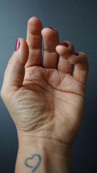 Hand, Finger, Palm, Skin, Surface, Woman, Female, Human