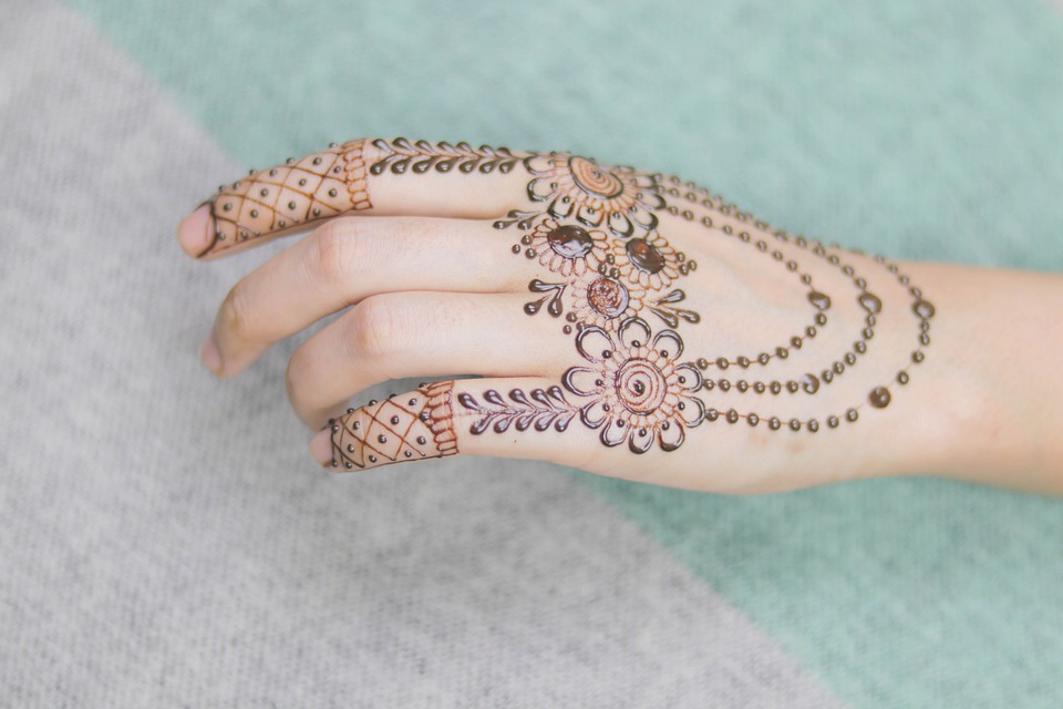 Hand, Tattoo, Fashion, Bridal, Bride, Brown, Color
