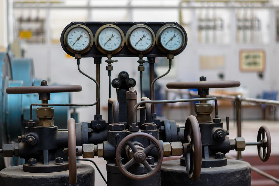 Equipment, Industry, Power Plant, Hand Wheels, Valves