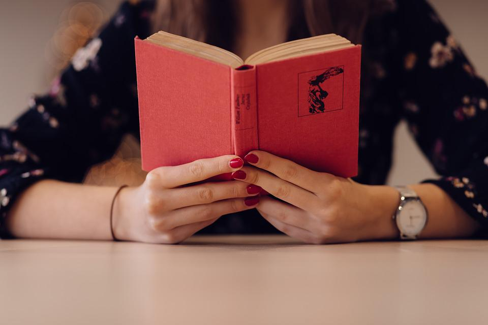 People, Woman, Girl, Reading, Book, Hand, Watch