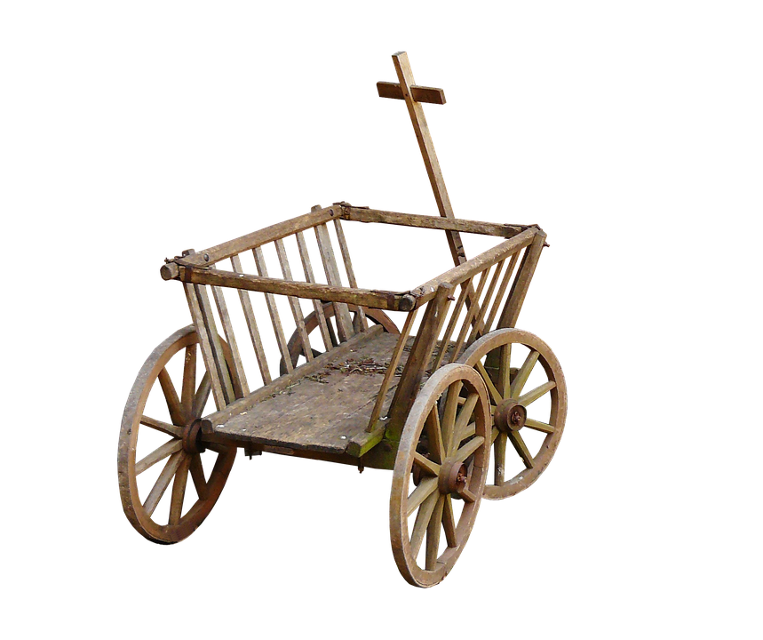 Stroller, Handcart, Cart, Wheel, Towbar, Father's Day