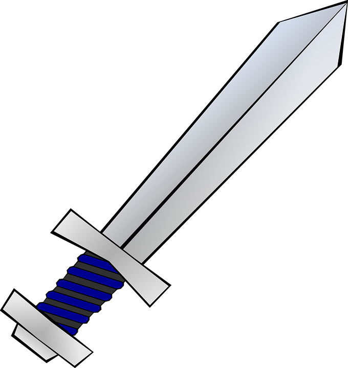 Short Sword, Weapon, Sword, Blade, Grip, Handguard