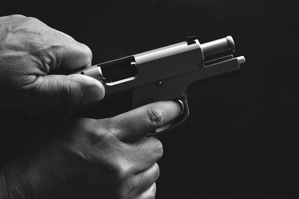 Gun, Pistol, Photo, Weapon, Handgun, Military, Army