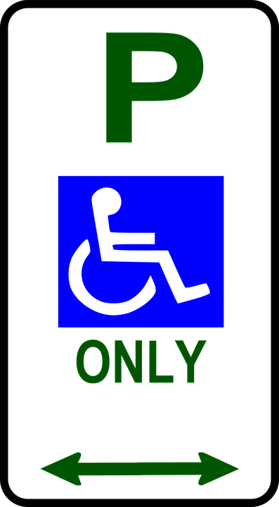 Handicapped Only, Parking, Disability, Disabled Parking