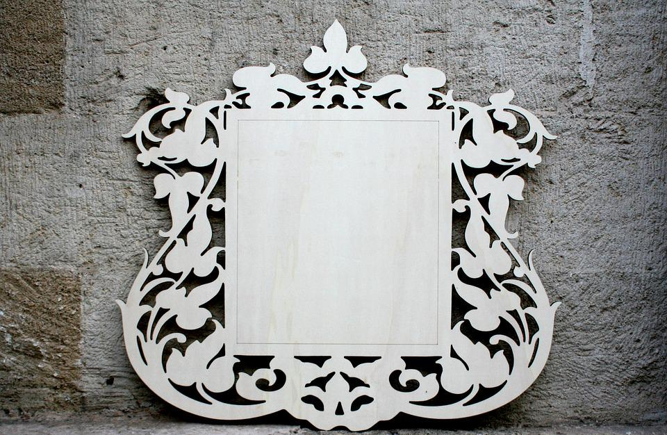 Frame, Lasercut, Wood, Photo, Handicraft, Crafts