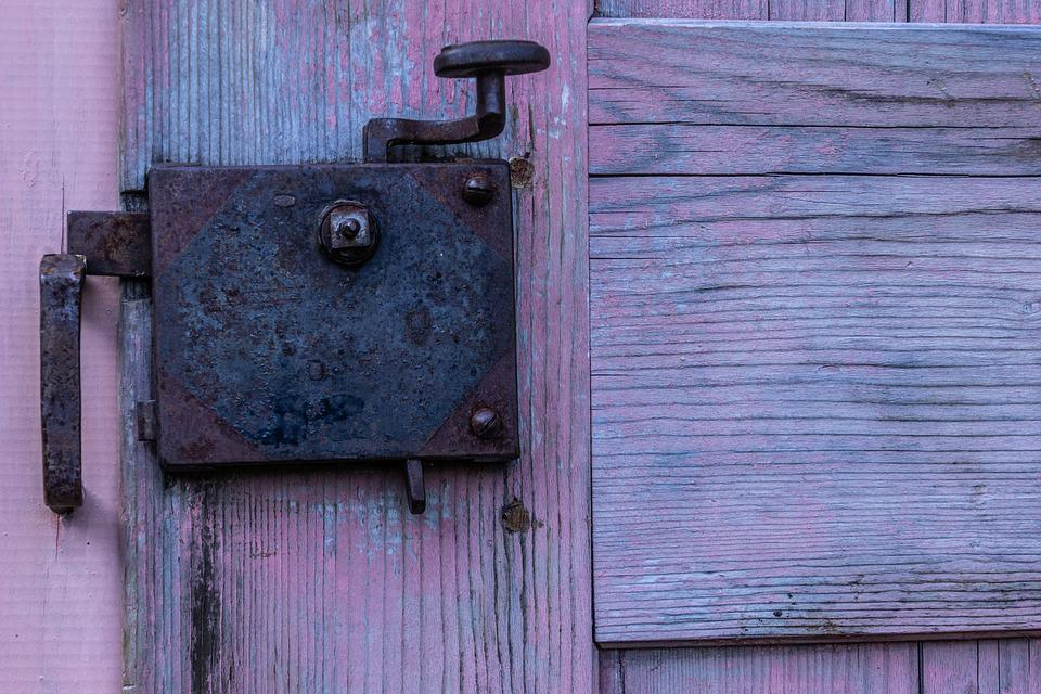 Handle, Door, Hardware, Rosa, Color, Wood, Entrance