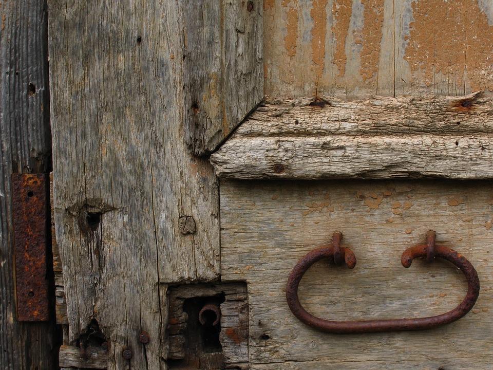 Door Wood Lock Rust Wooden Door Handle Nail & Free photo Handle Door Wood Nail Rust Wooden Door Lock - Max Pixel
