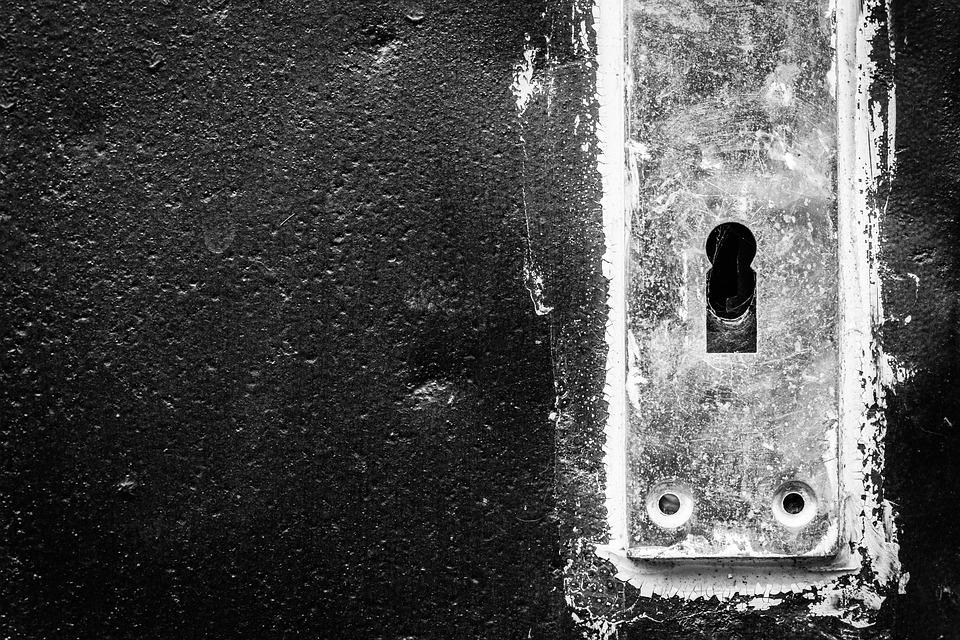 Keyhole, Door, Handle