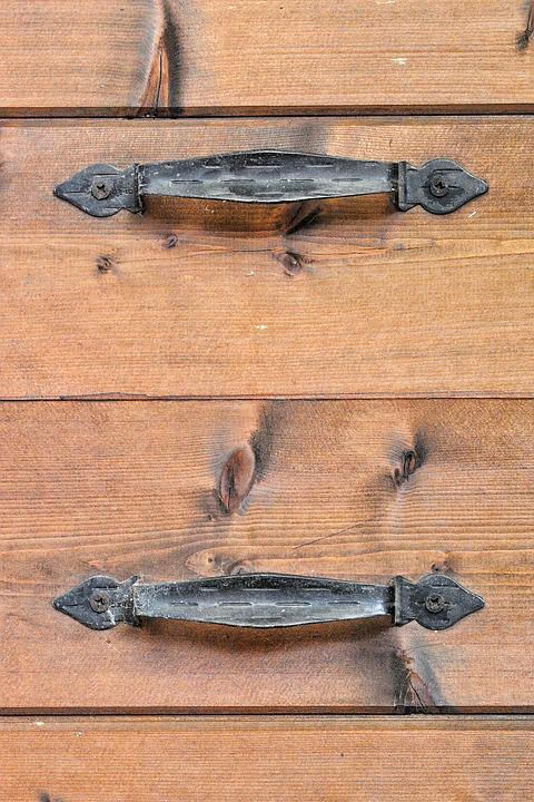 Door, Handle, Wood, Texture, Iron