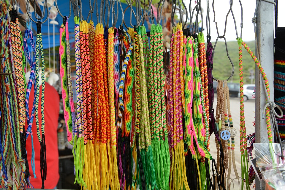 Bracelets, Beach, Colors, Handmade