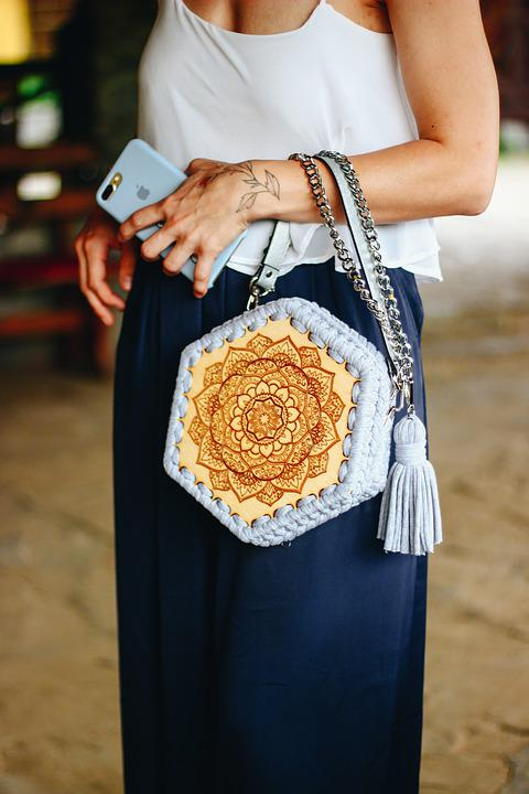Style, Girl, Woman, Bag, Handmade, Beauty