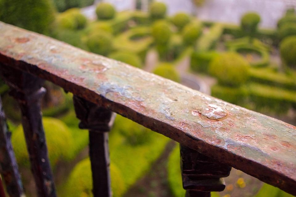 Handrail, Iron, Forging, Metal, Oxide, Old, Balcony
