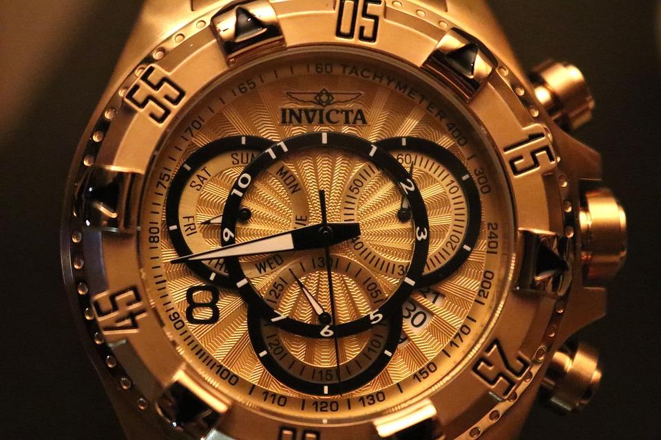 Watch, Chronograph, Tachometer, Bezel, Hands, Face