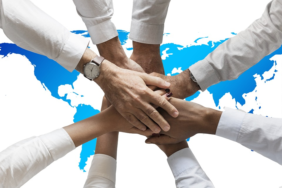 Hands, Friendship, Together, Human, Continents, World