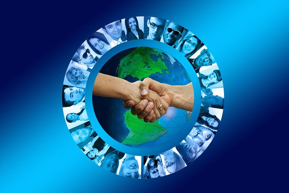 Hands, Businessmen, Team, Cooperation, Teamwork