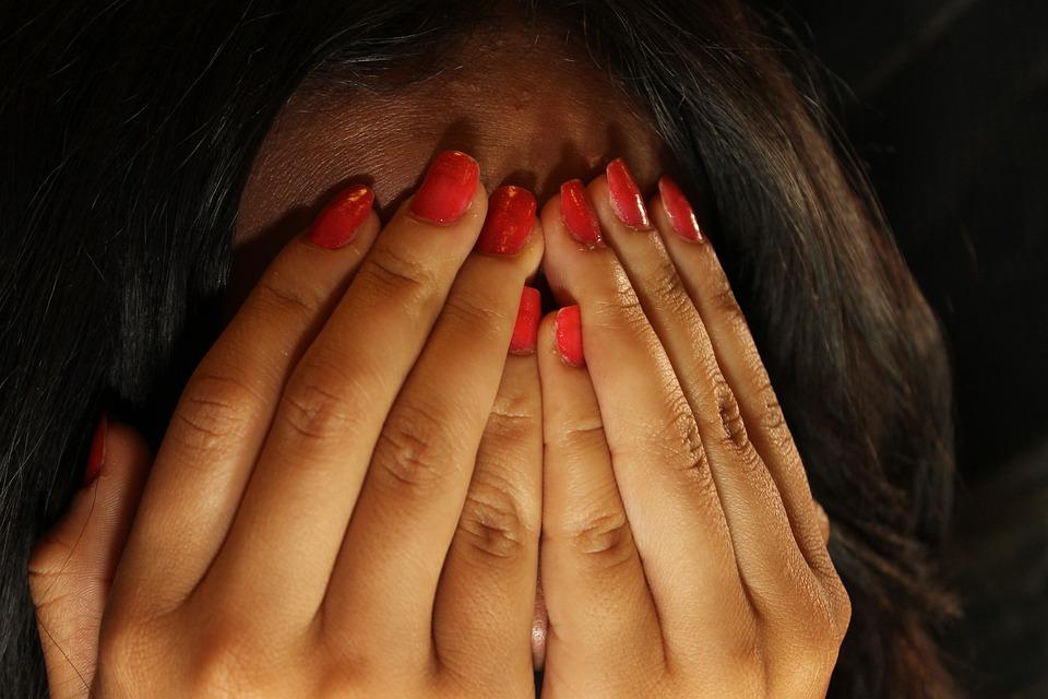 Fear, Terror, Hidden, Hands, Shame, Shyness