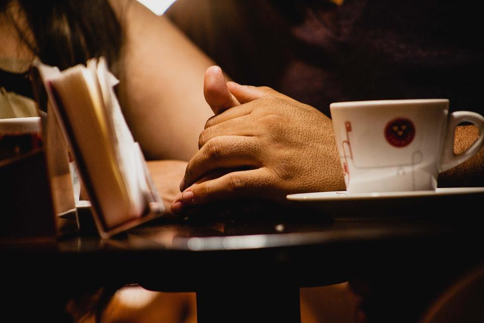 Love, Hands, Coffee, Details, Affection, Casal