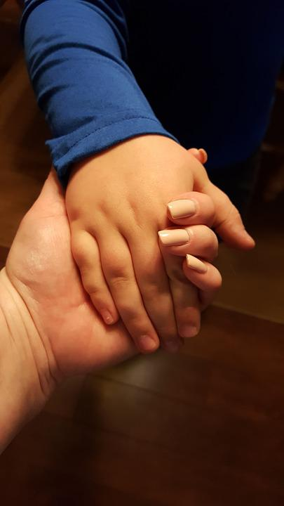 Hands, Mother And Child, Holding Hands, Love, Mother