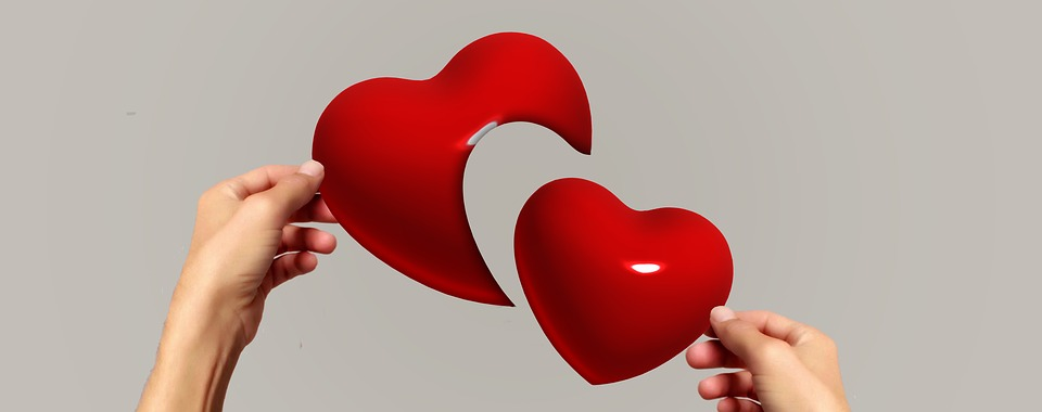 Hands, Heart, Separation, Love, Puzzle
