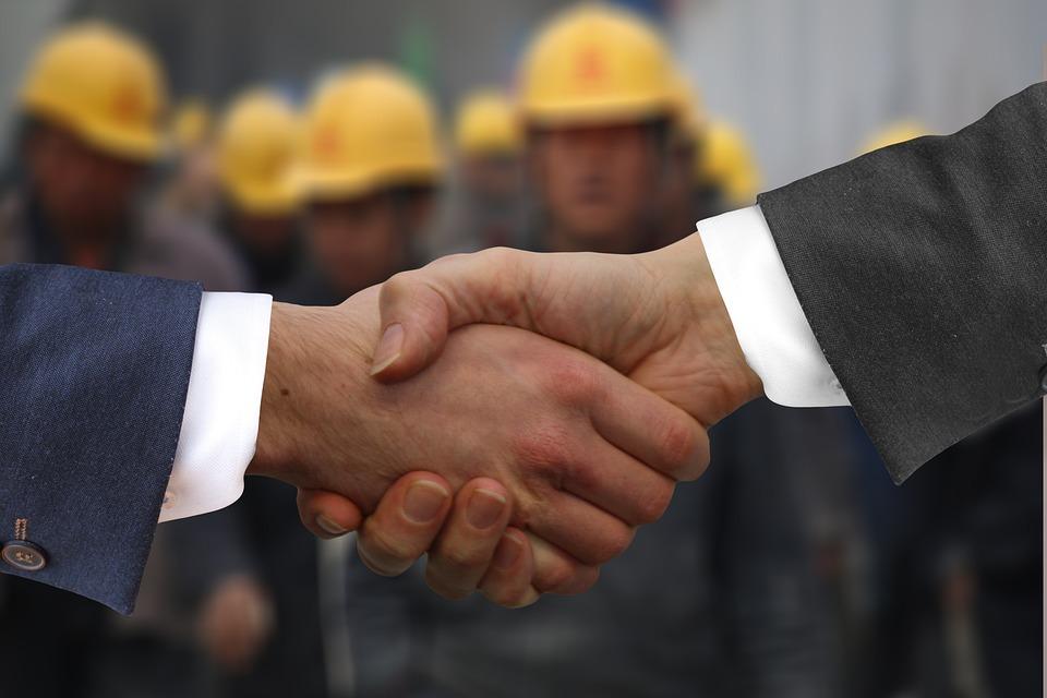 Free Photo Hands Workers Handshake Shaking Hands Employee