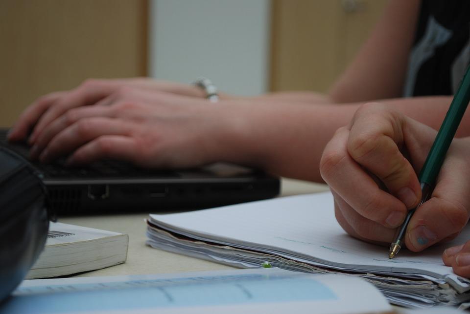 Study, Write, Hands, School