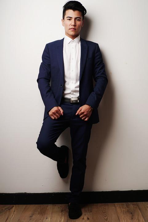 Suit, Model, Businessman, Corporate, Handsome, Portrait