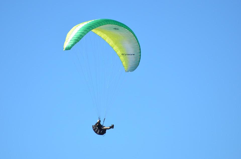 Hang Glider, Paragliding, Adventure Bums, Hang Gliding