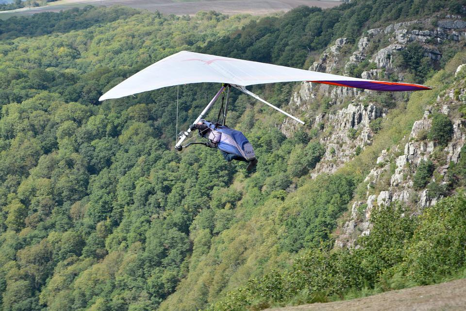Hang Gliding, Hang Gliding Or Wing Deltaest