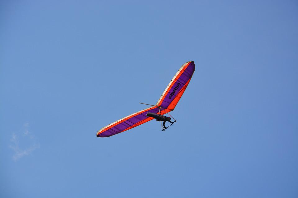 Free photo Hang Gliding Or Wing Deltaest Hang Gliding - Max
