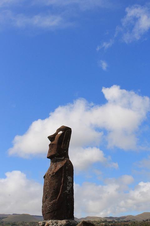 Rapa Nui, Easter Island, Moai, Chile, Culture, Hangaroa