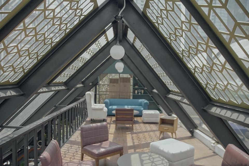 Architecture, Interior, Modern, Restaurant, Hangout