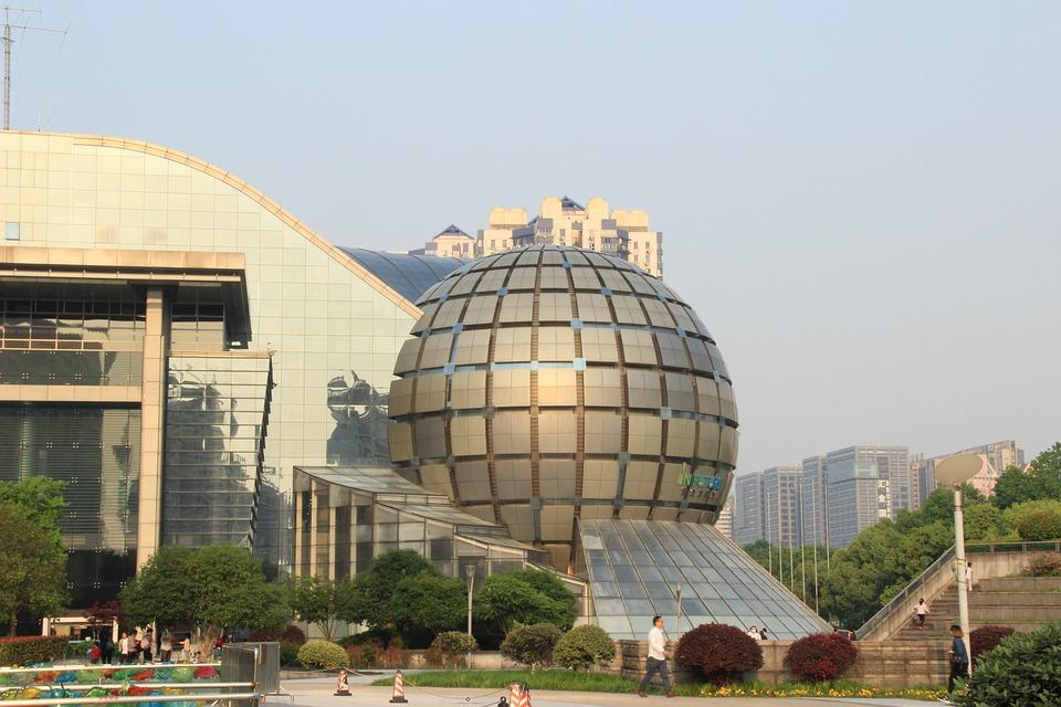 Hangzhou, Building, Square
