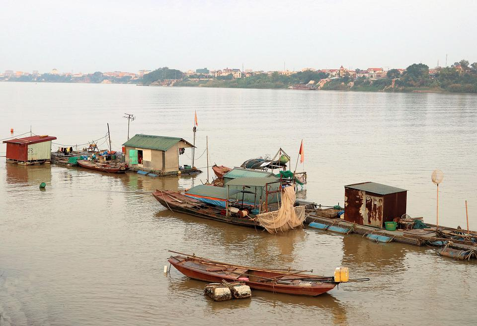 Red River, Waterscape, Live On The Water, Hanoi