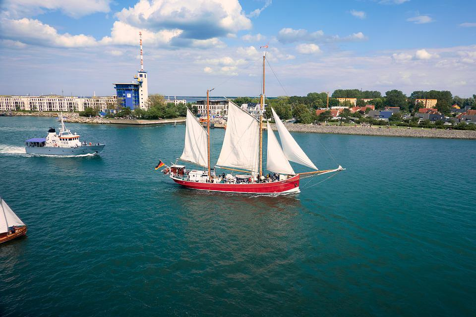 Hanse Sail, Boat, Ship, Warnemünde, Rostock, Baltic Sea