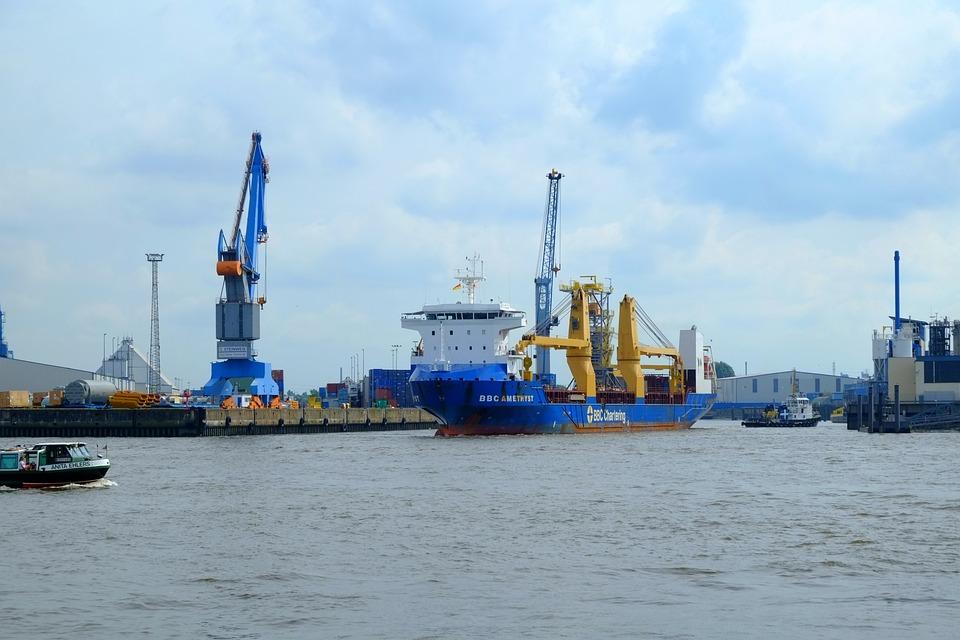 Hamburg, Port, Hamburg Port, Hanseatic City, Ships
